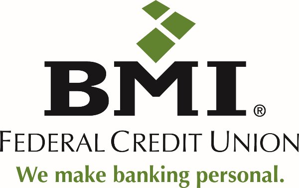 BMI Federal Credit Union full color logo