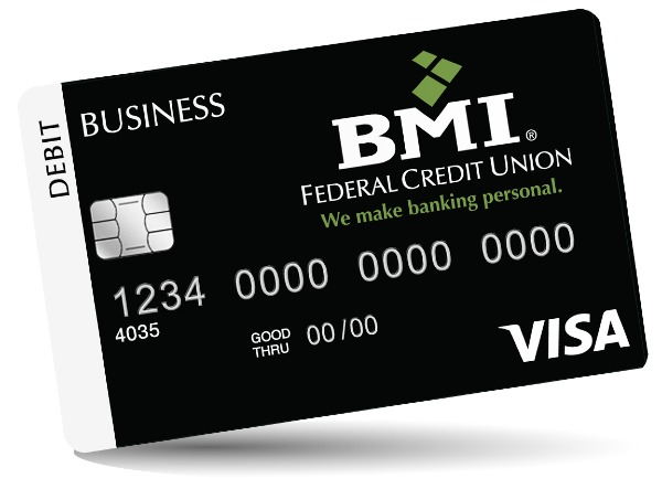 tilted visa card for business